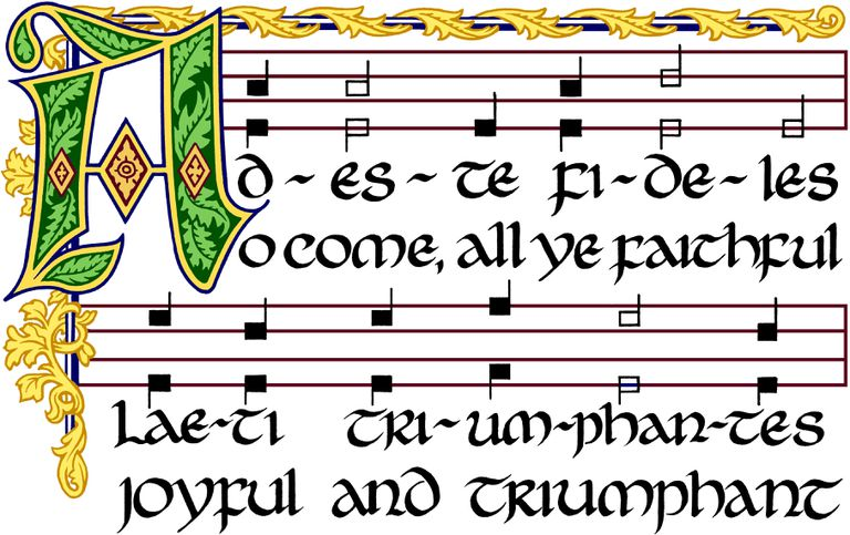 Adeste Fidelis/O Come, All Ye Faithful