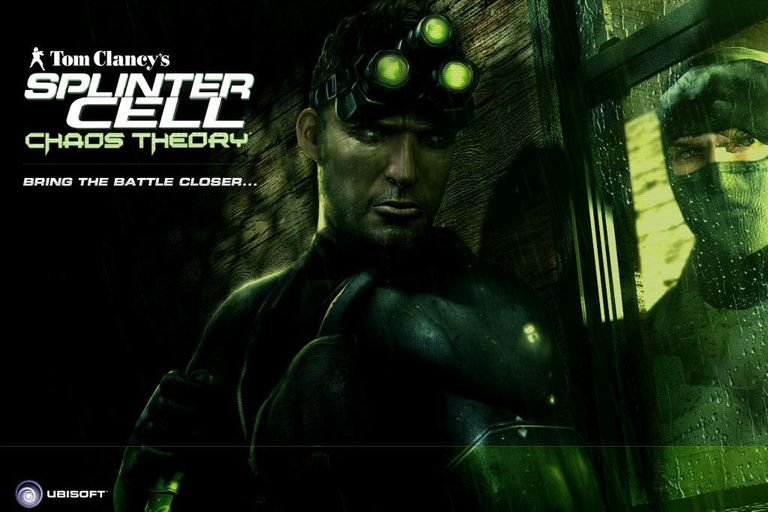 Tom Clancey's Splinter Cell Chaos Theory game