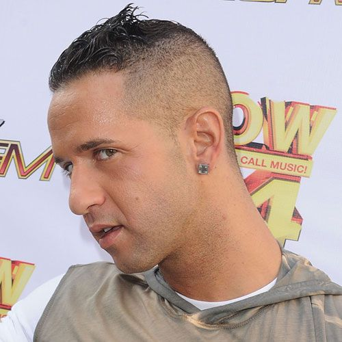 """Mike """"The Situation"""" Sorrentino's High Fade"""
