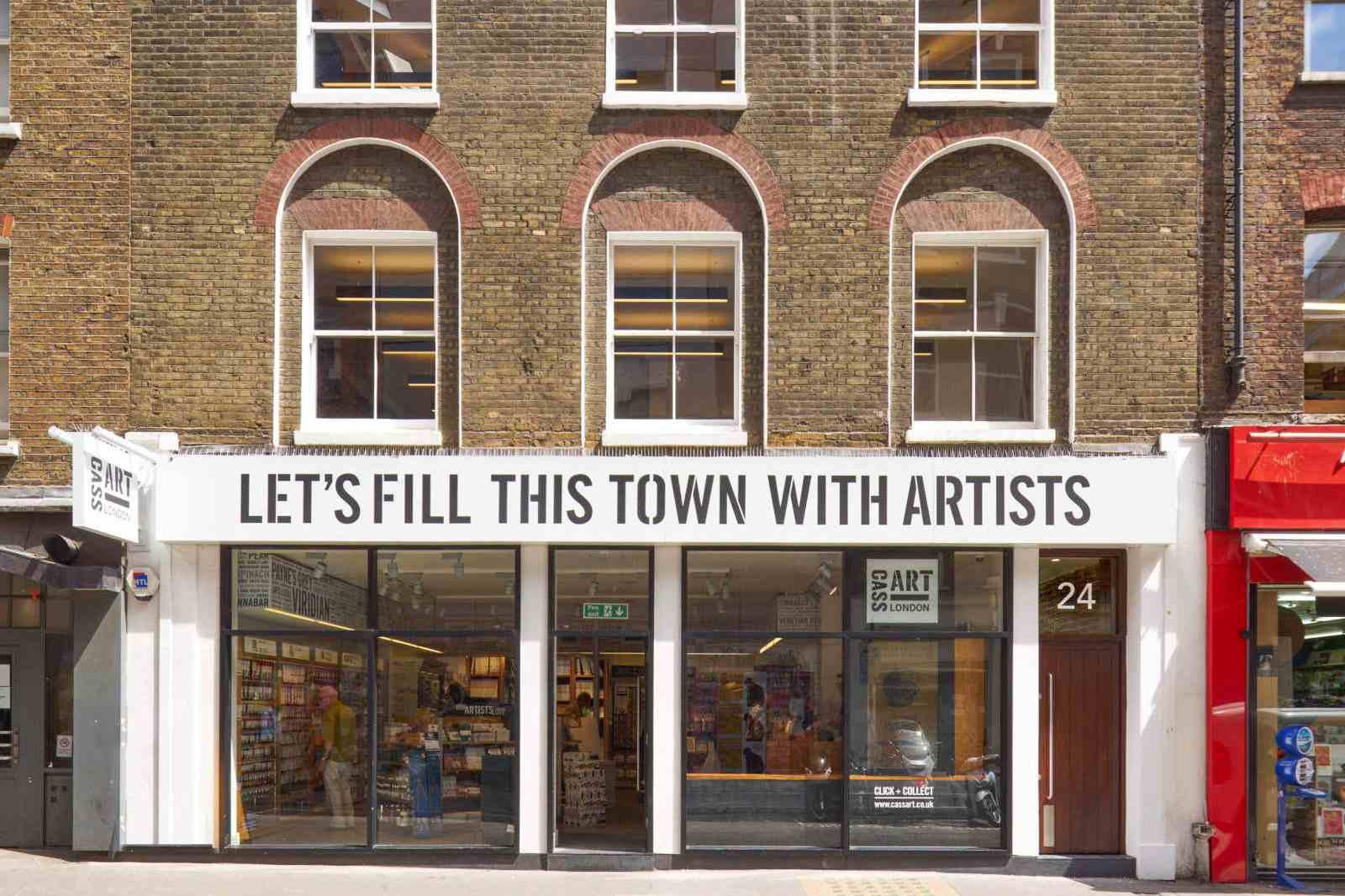 Cass Art London