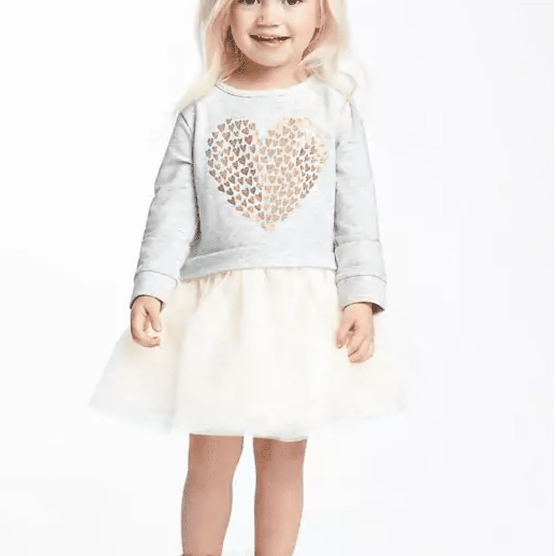 5d92299f1 2-in-1 Foil-Heart Graphic Tutu Dress for Toddler. oldnavy.com