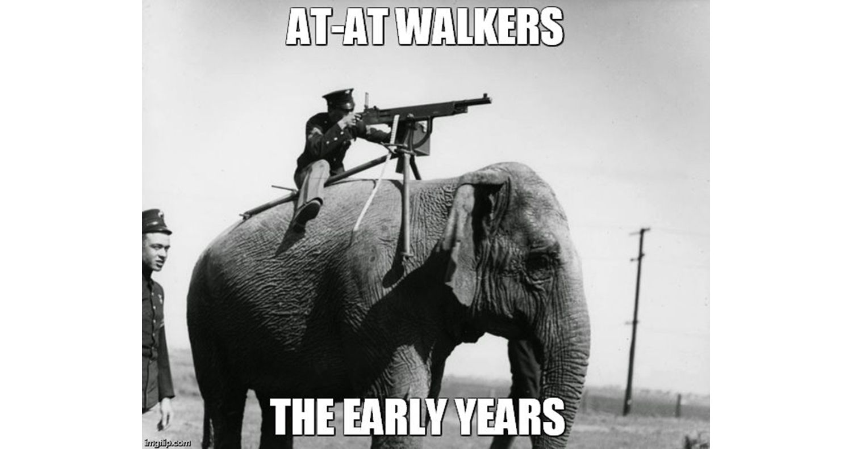 AT-AT Walker meme