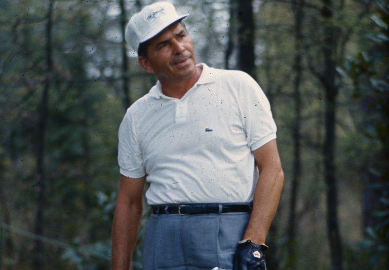 Portrait of golfer Julius Boros