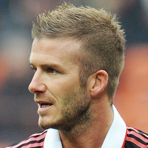 Pictures Of David Beckhams Haircuts