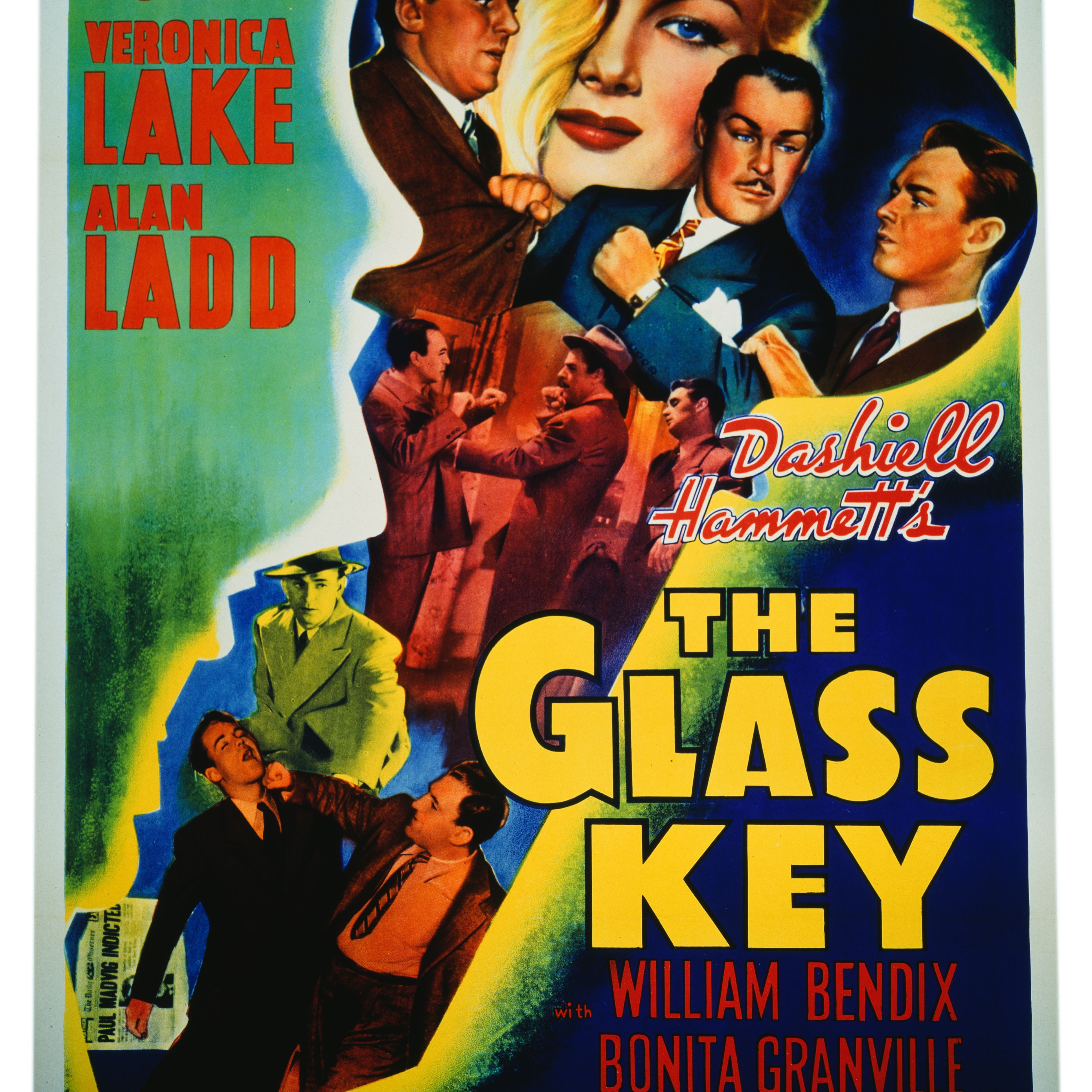 The Glass Key movie poster