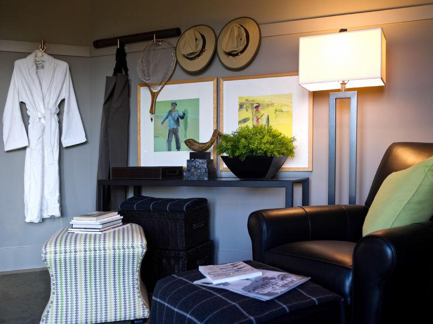 Photo of the changing room of the 2012 HGTV Dream Home.