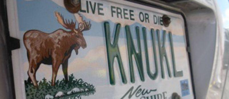 Moose knuckle plate