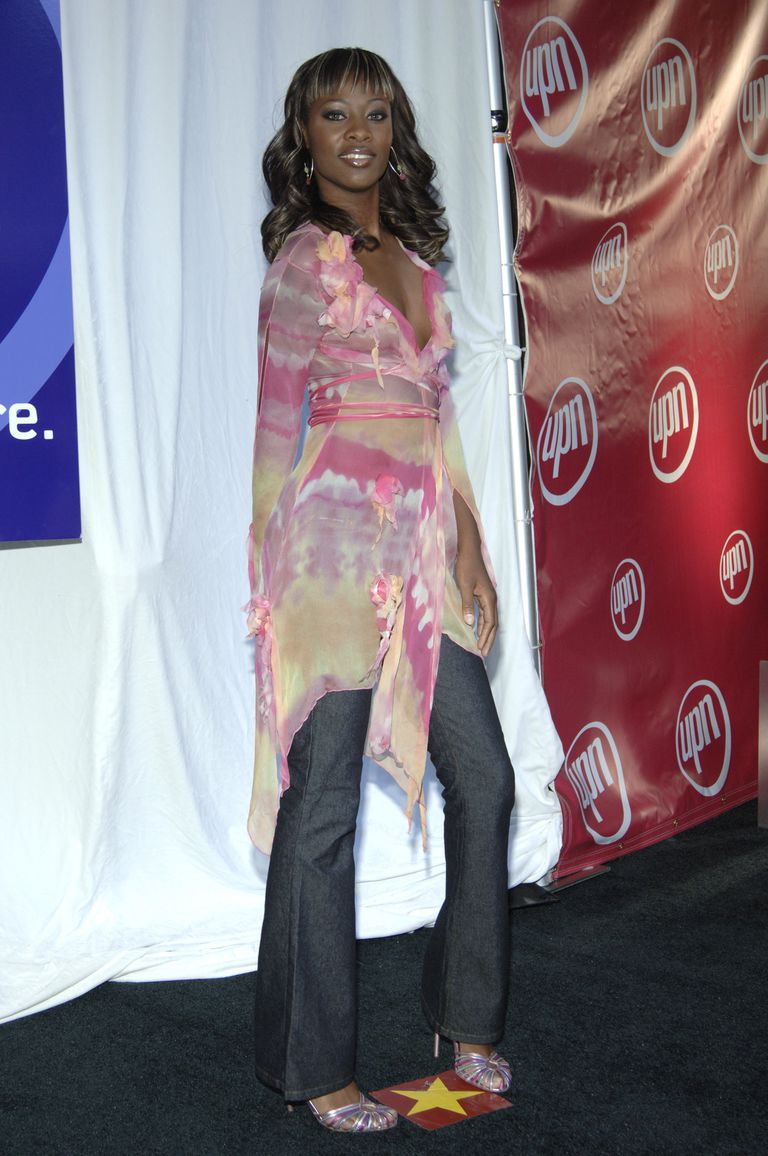 Tiffany Richards at 2005/2006 UPN Prime Time UpFront.