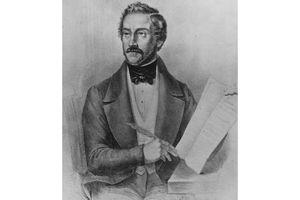 Illustration of Gaetano Donizetti (1797 - 1848)