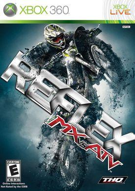 MX vs. ATV: Reflex box art