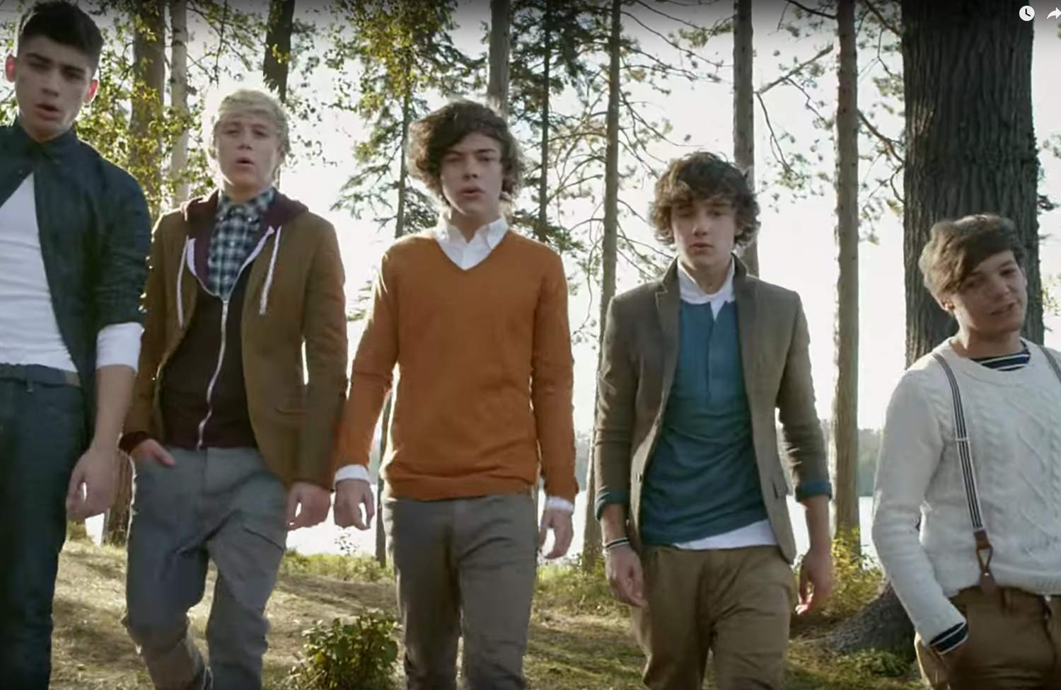 One Direction Music Videos, the Complete History