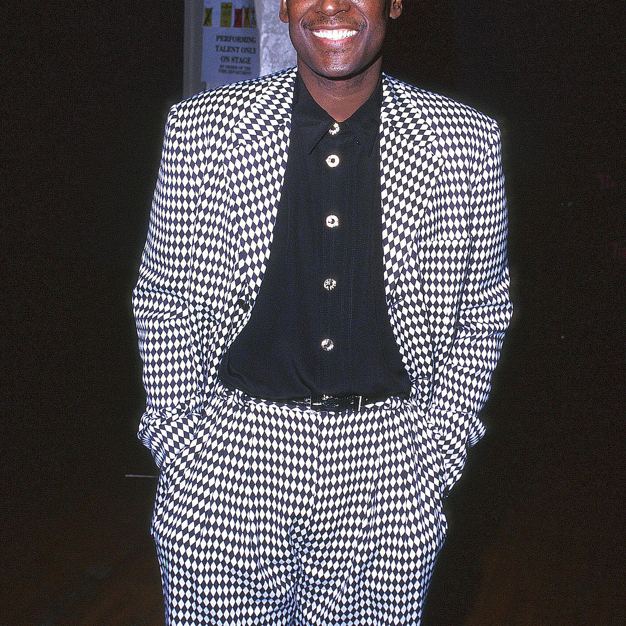 Luther Vandross at an event
