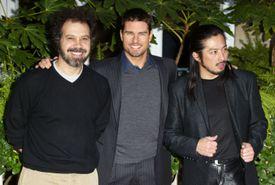 Edward Zwick, Tom Cruise, and Hiroyuki Sanada