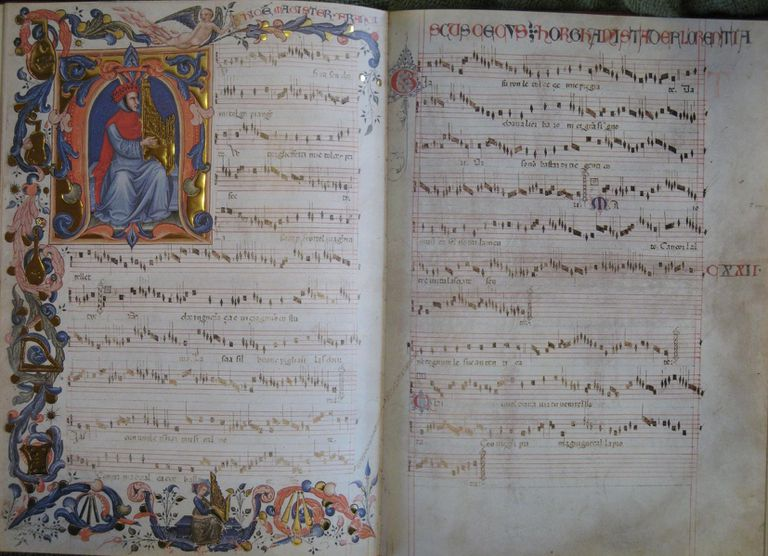 A manuscript from Francesco Landini