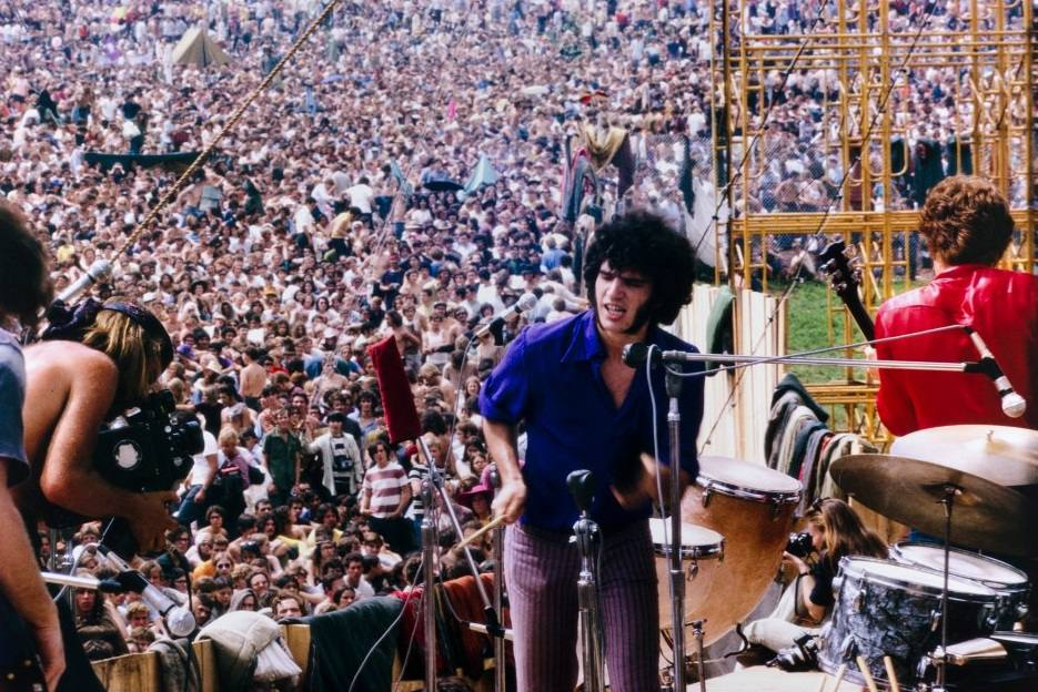 Quill playing live at Woodstock