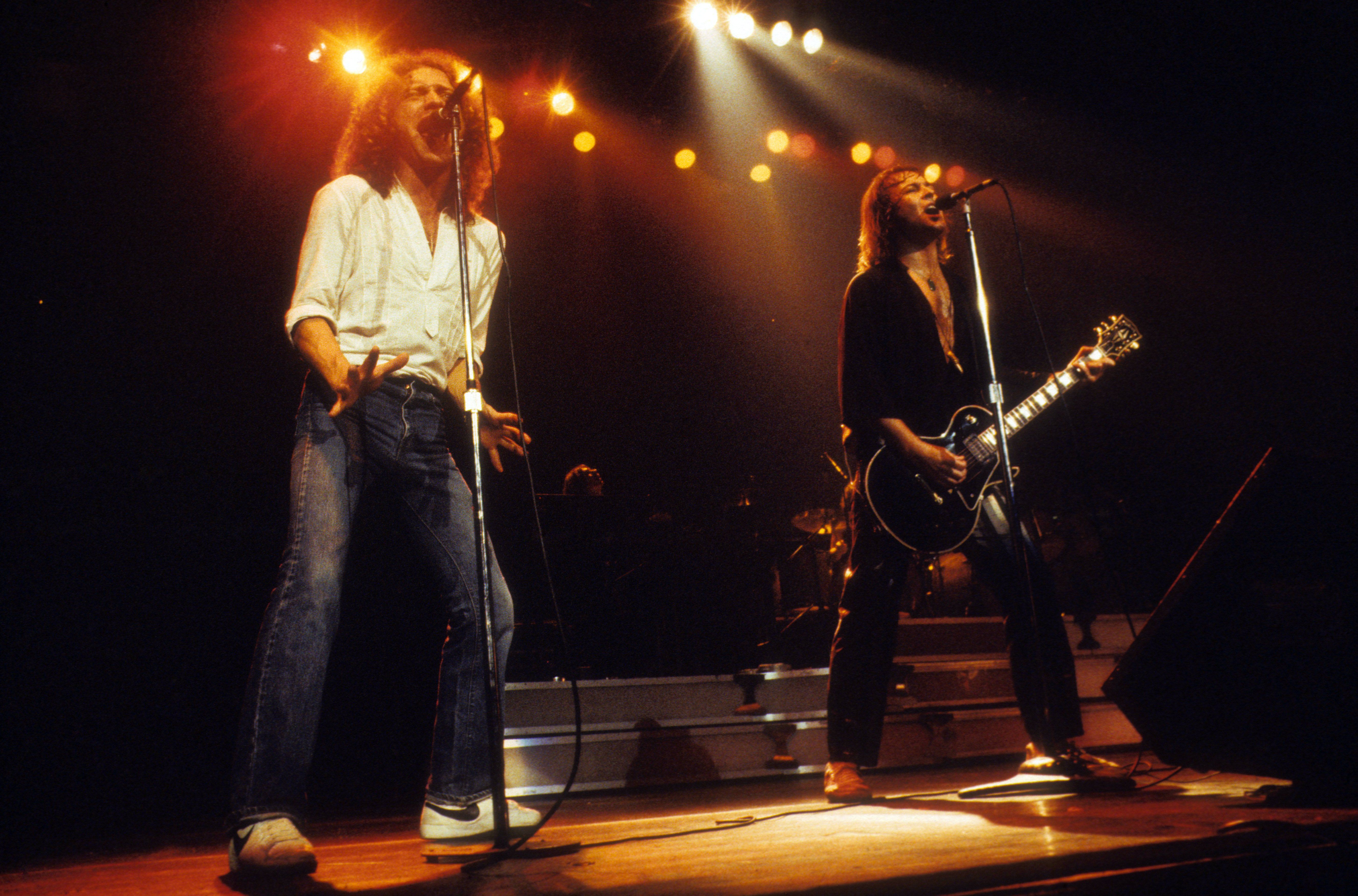 Lou Gramm And Mick Jones Of Foreigner In New Haven