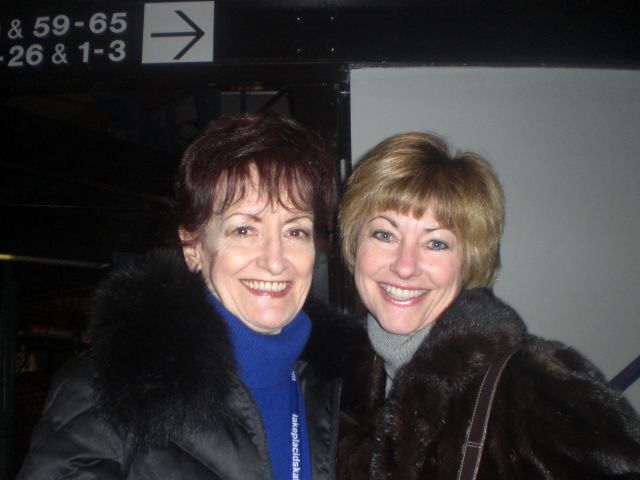 Doreen Denny and Erika Susman Shorr - Decmeber, 2008