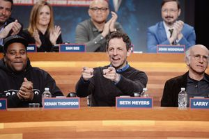 Seth Meyers and friends
