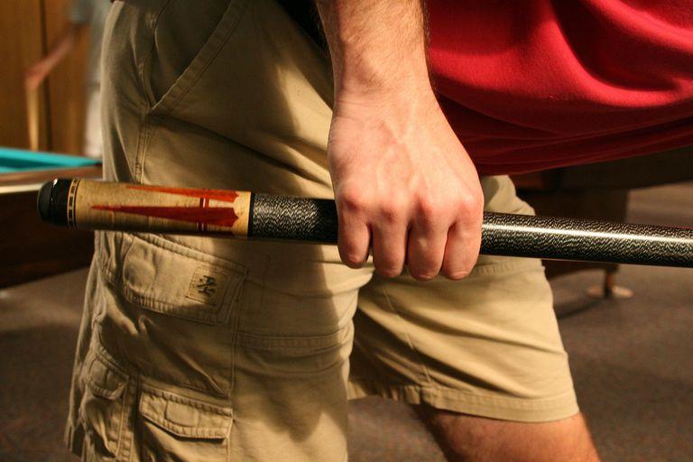 A Proper Cue Stick Grip