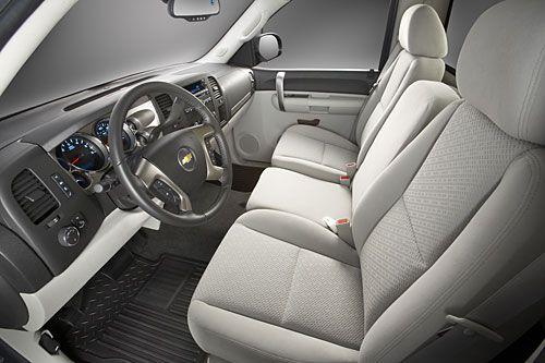 2007 Chevrolet Silverado LT Regular Cab Truck Seating