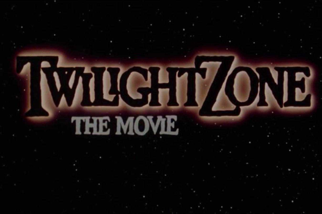 Twilight Zone The Movie poster