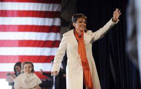 Sarah Palin Campaigns in Battleground State in Western Pennsylvania