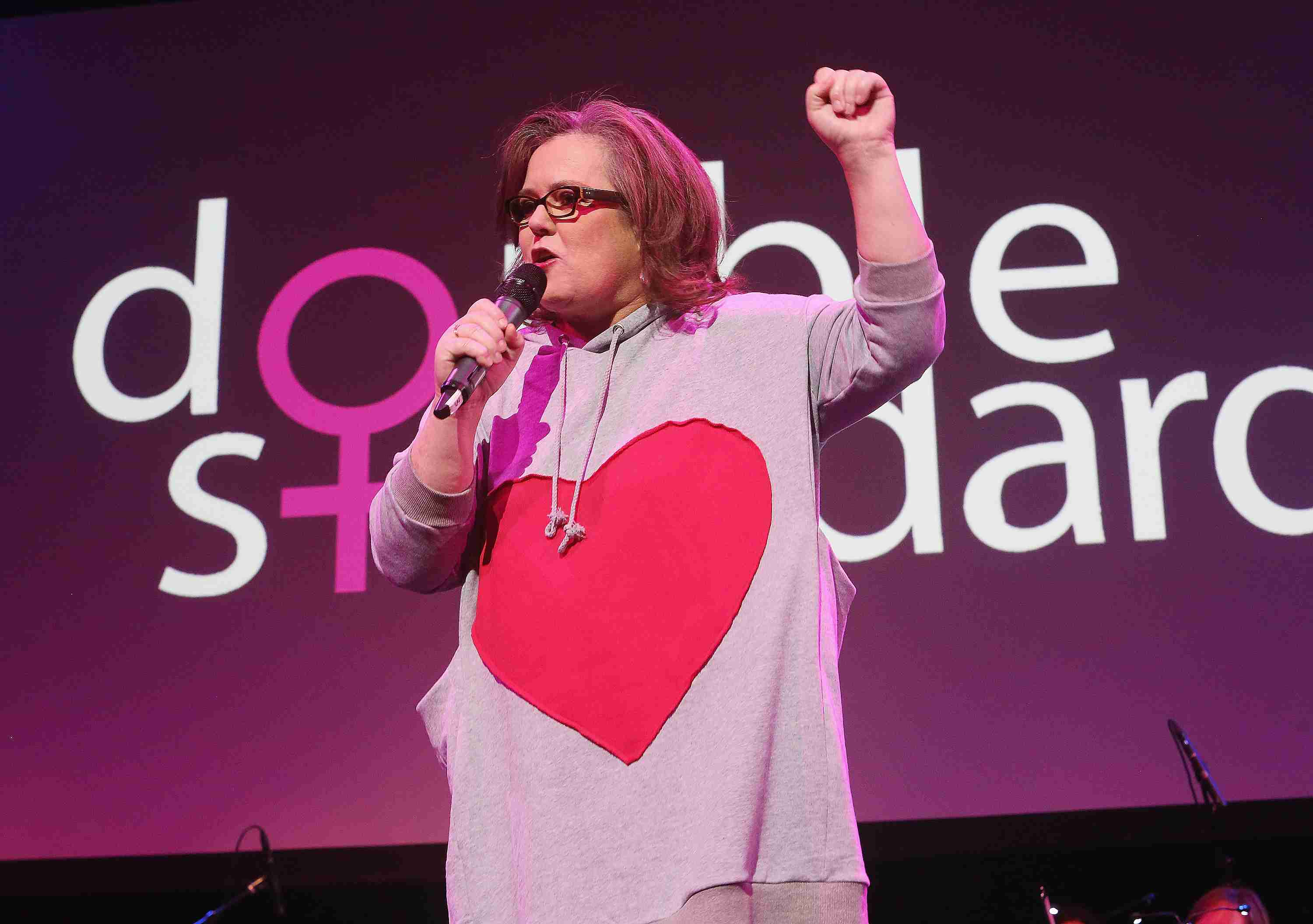 Rosie O'Donnell at 'Double Standards' Benefit Concert Celebrating Women's Rights