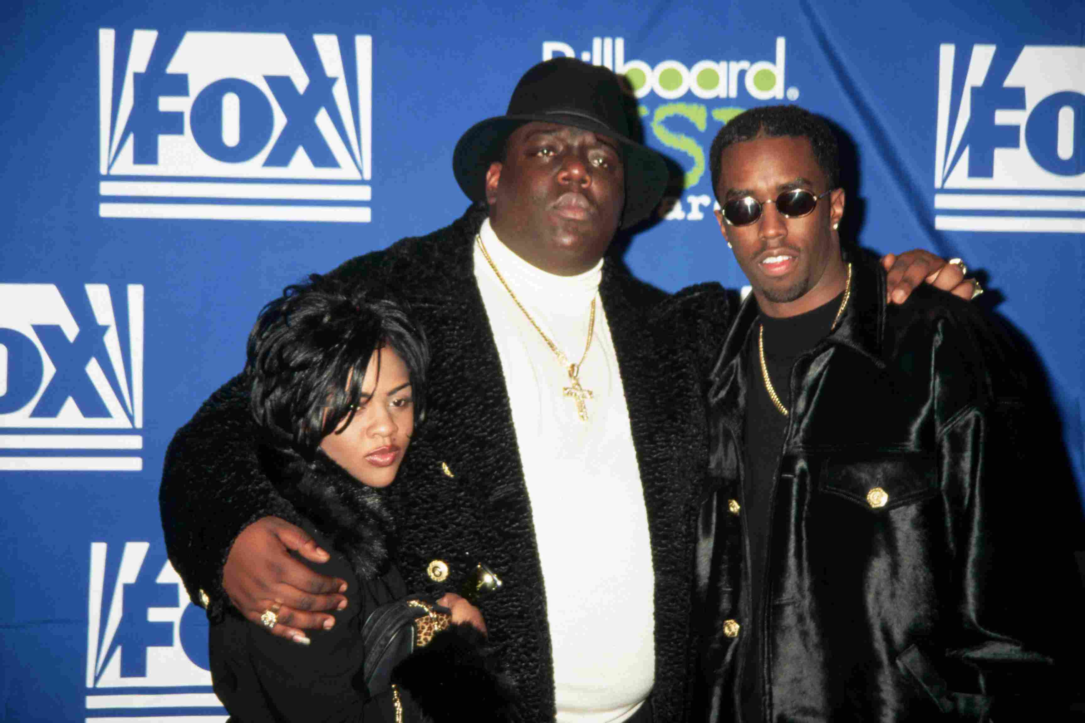 Little Kim, The Notorious B.I.G., and Sean 'Puffy' Combs