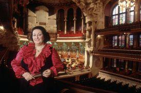 Opera Singer Montserrat Caballe