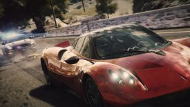 Cars racing in Need for Speed Underground