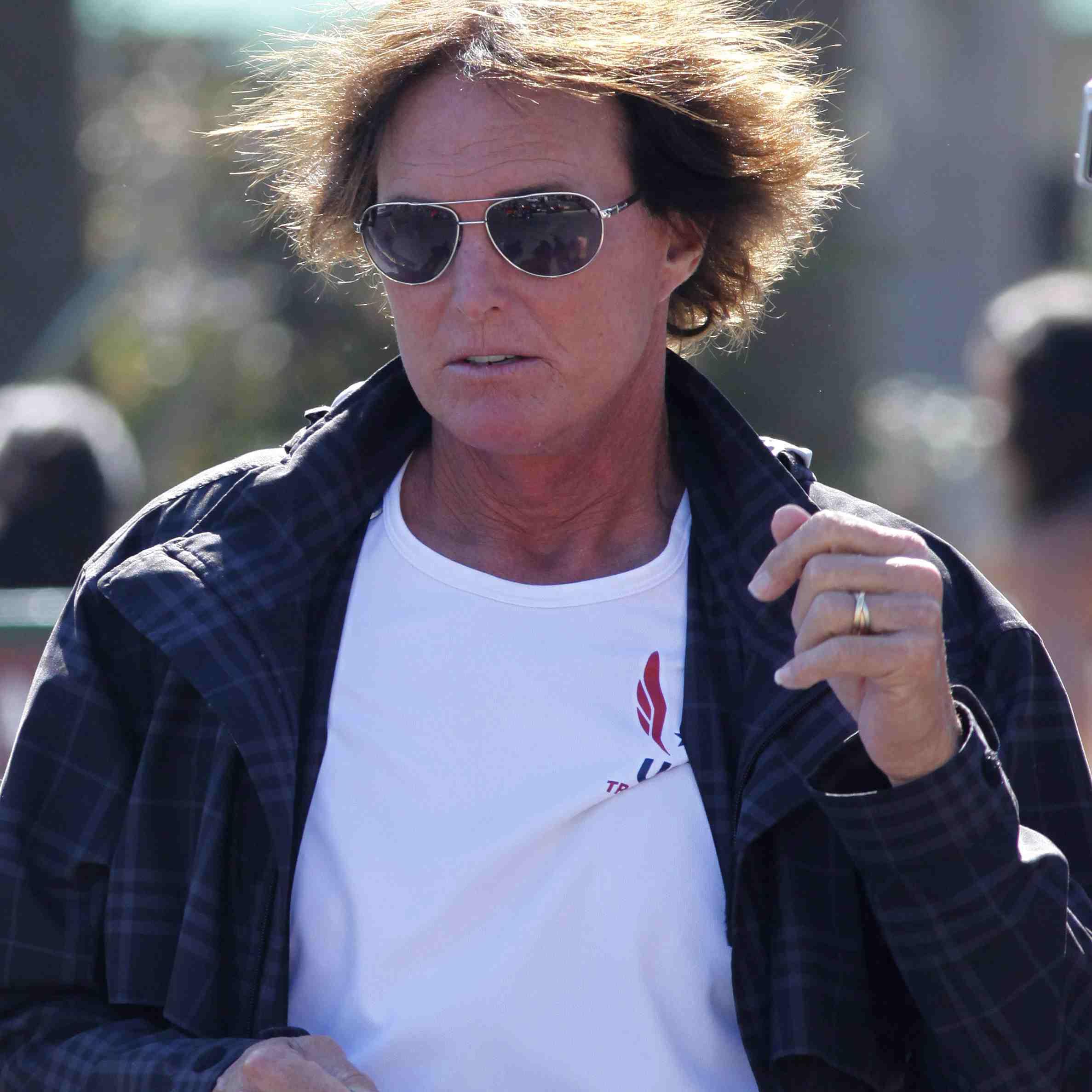 Bruce Jenner's hair