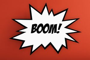 exploding Boom! thought bubble
