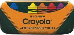 Crayola Armitron Watch Tin