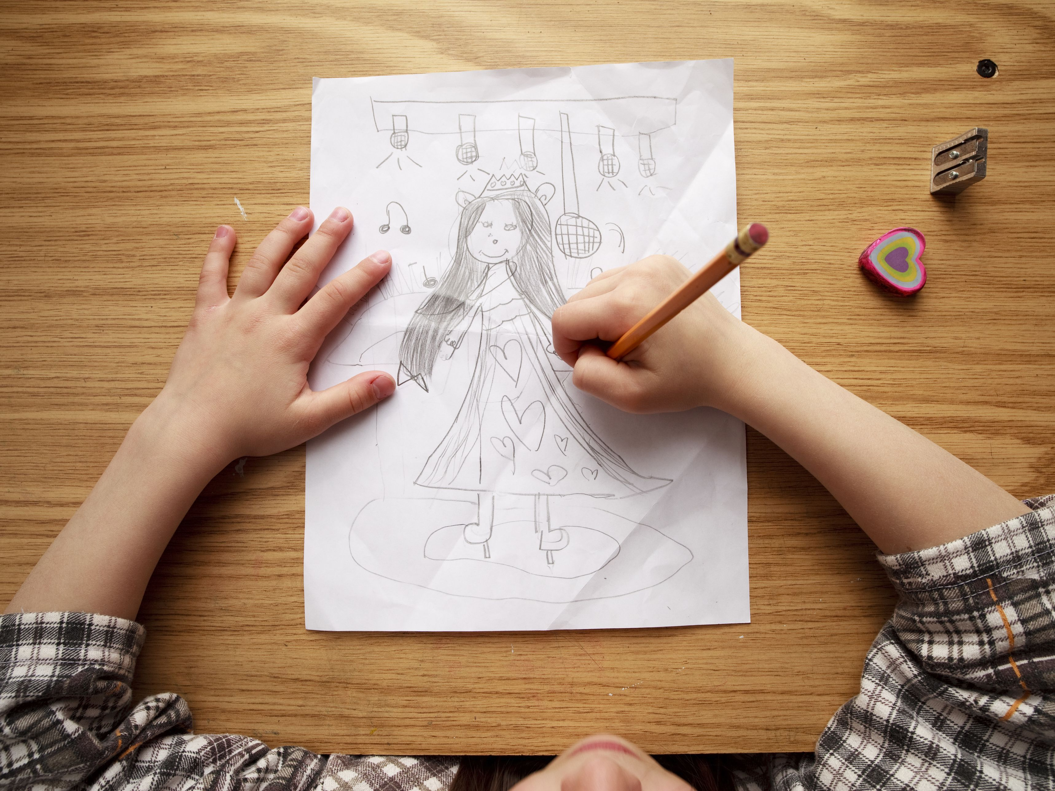 Tips for teaching kids how to draw