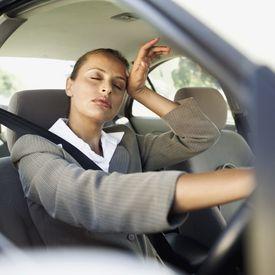 hot girl in car