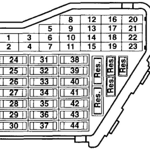 Fuse Box Diagram For A 2003 Vw Jettum 1 8t - Wiring Diagram