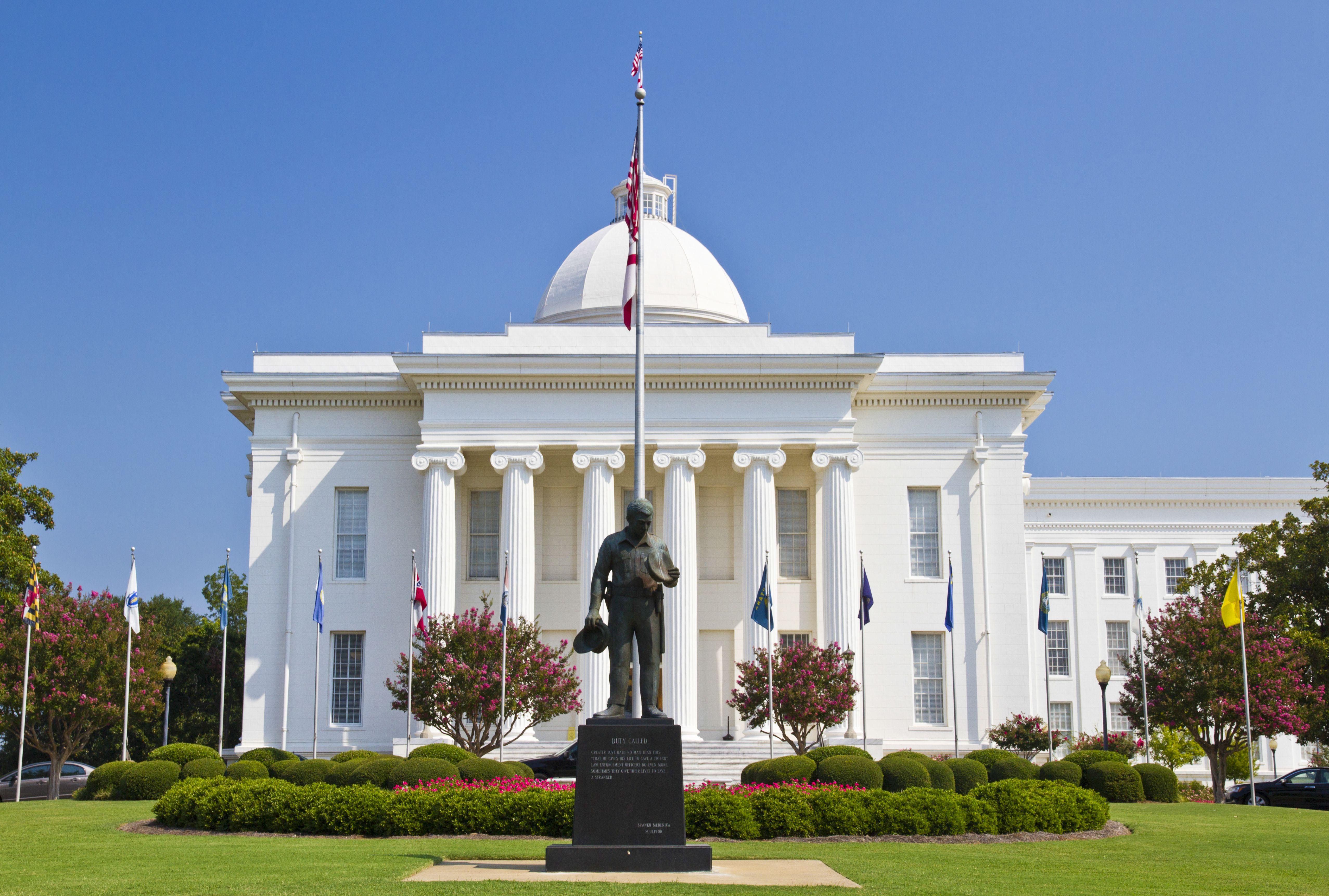 Alabama state capitol building