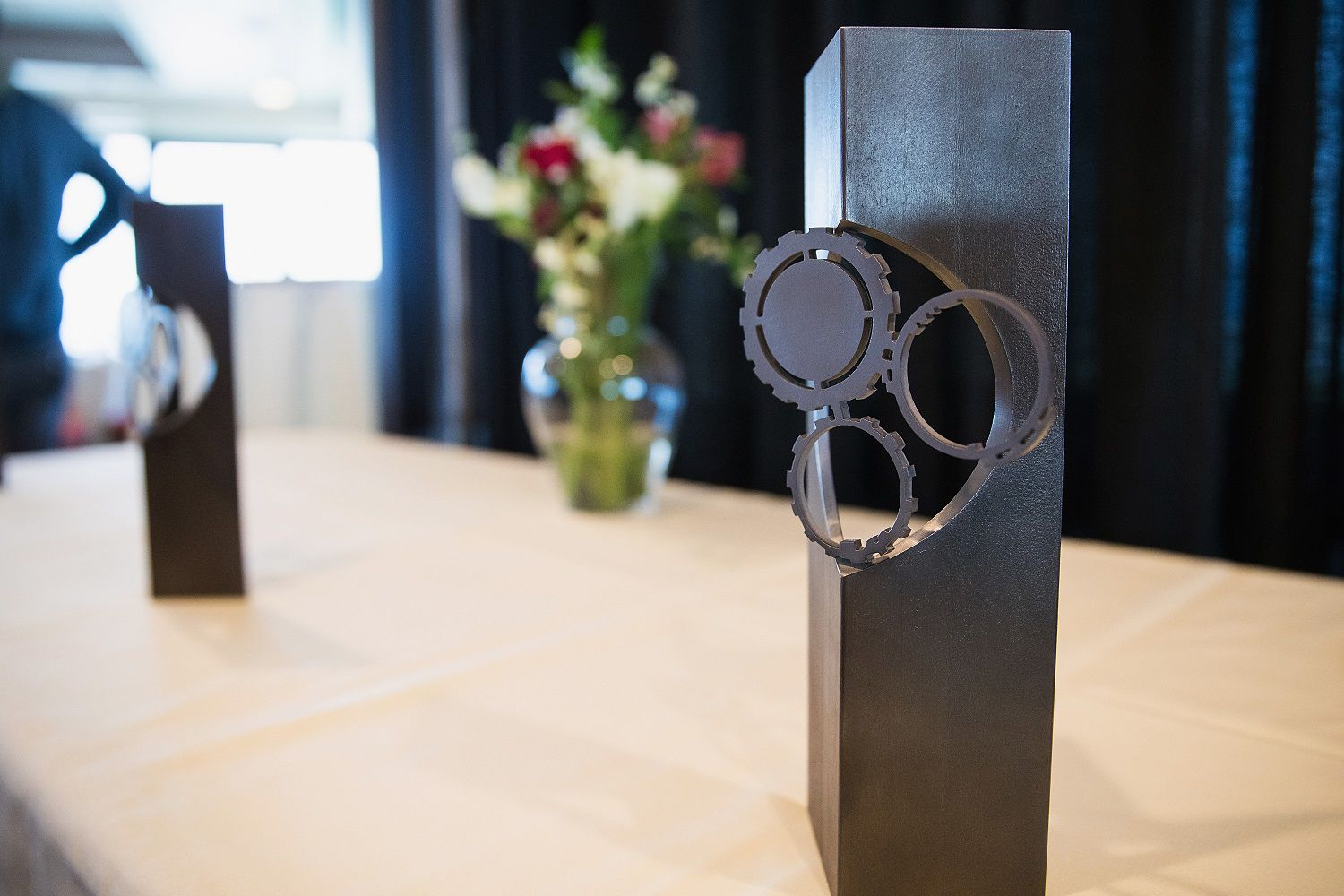 An image of a Seattle International Film Festival Golden Space Needle Award