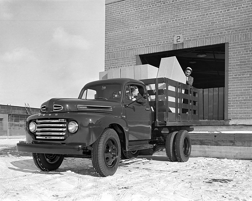 1948 Ford F-1 Dually Truck