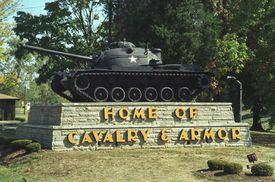 Fort Knox entrance sign