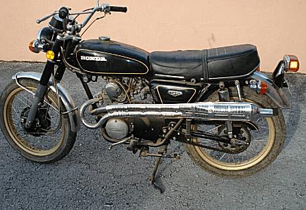 Honda CB125 Restoration