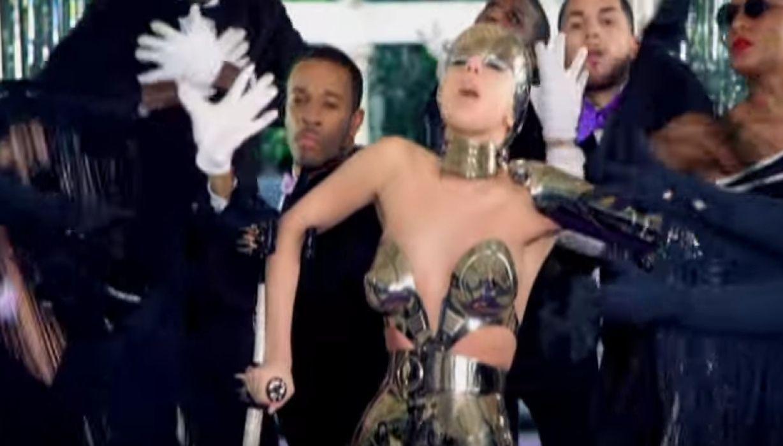 Lady Gaga Paparazzi video