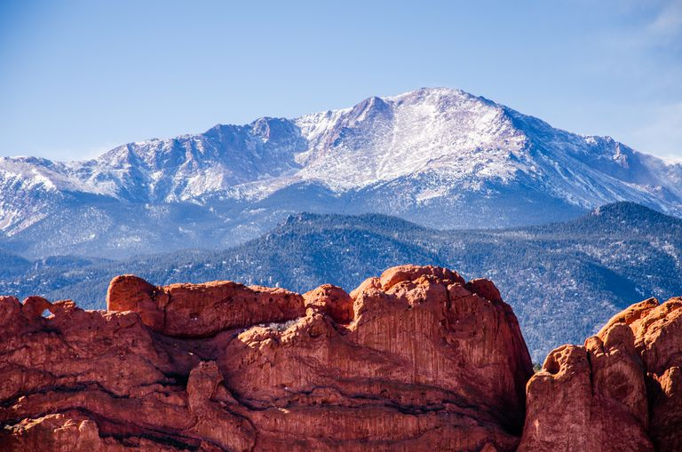 Pikes Peak and the Kissing Camels.