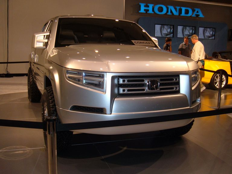 Custom Honda Ridgeline Pickup Trucks at the SEMA Show