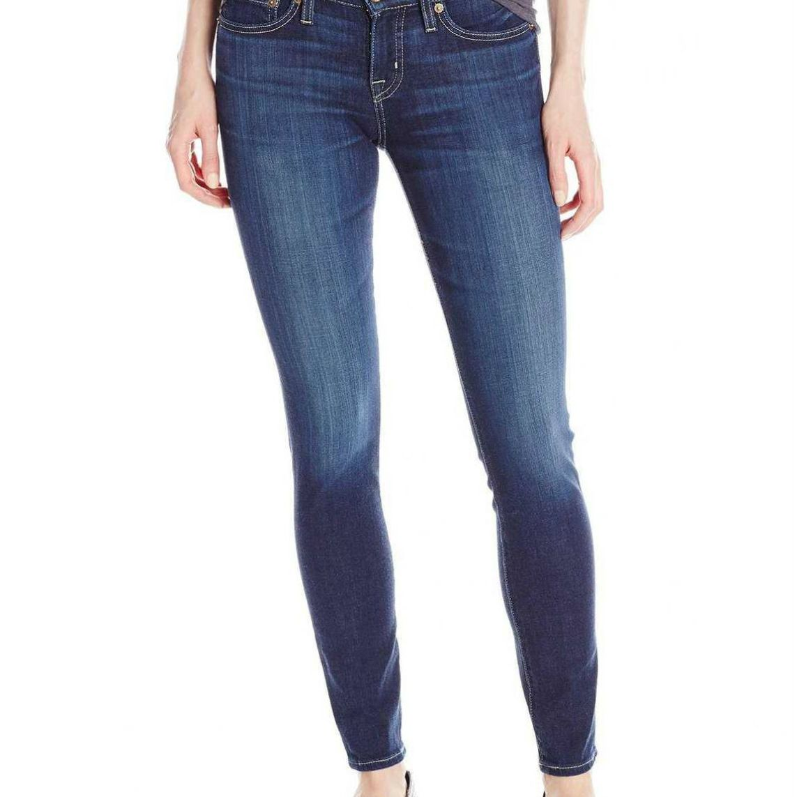 Big Star Alex Mid-Rise Skinny Jeans