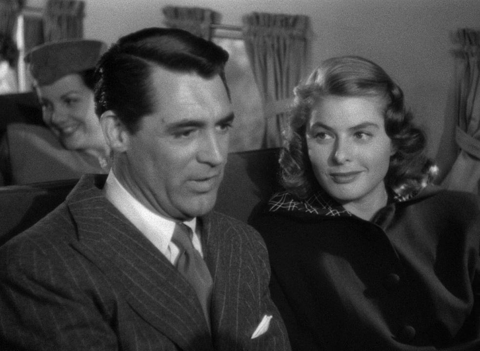 Ingrid Bergman and Cary Grant in
