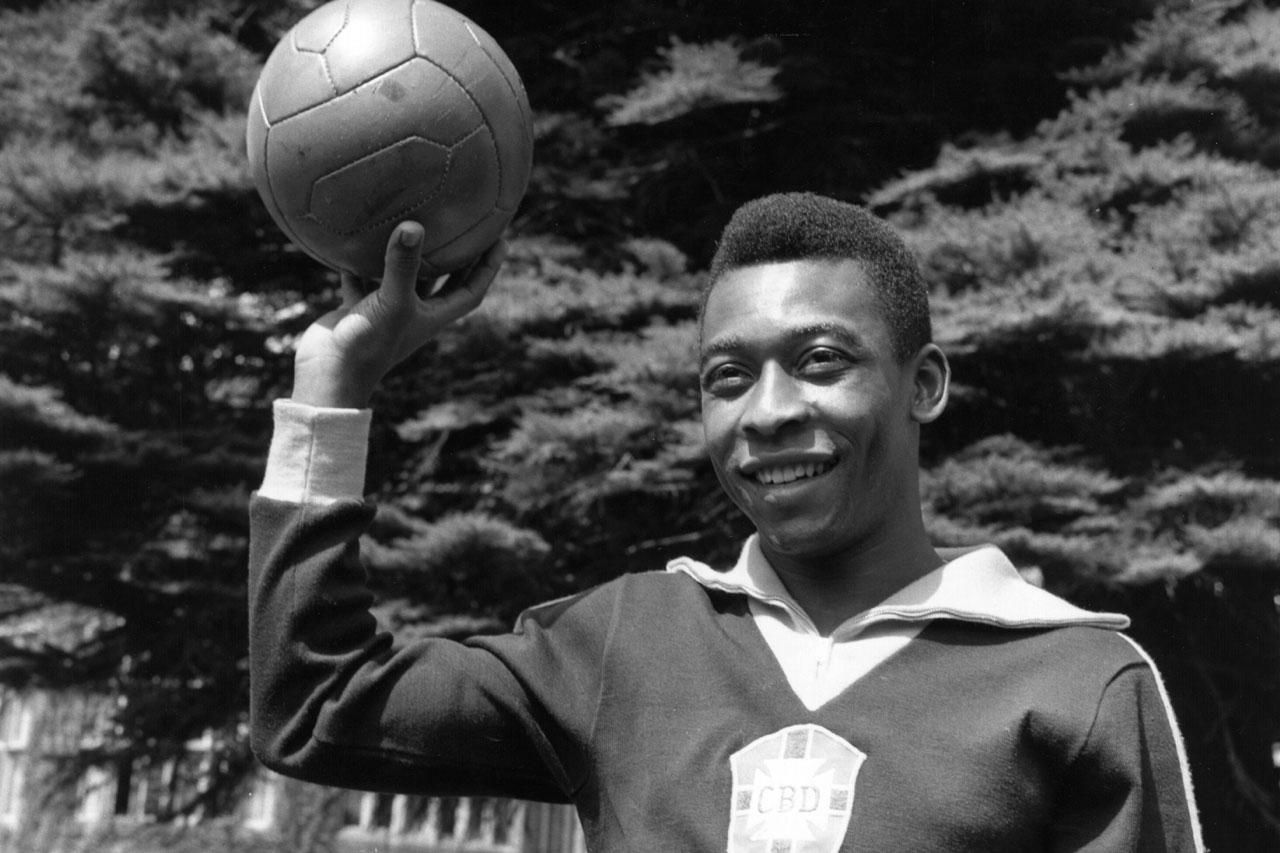 Pele regarded as the greatest soccer player in the world