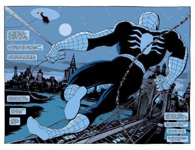 spider man blue tim sale