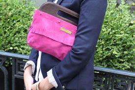 Carrie Dunham interchangeable handbag