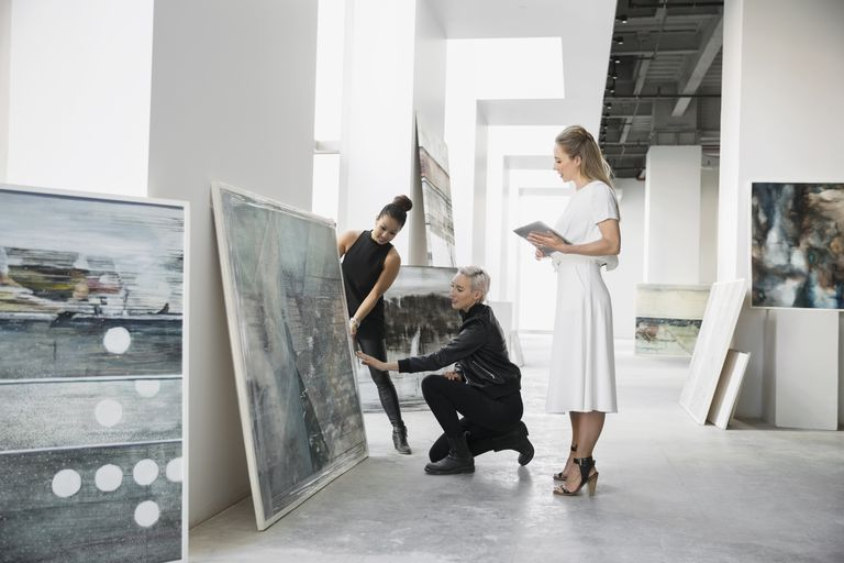 How to Approach an Art Gallery with Your Paintings